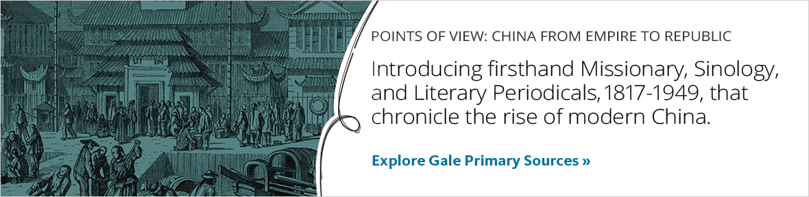 Points of View: China from Empire to Republic. Introduce cultural enthusiasts to firsthand accounts documenting the conflicts and relationships that gave rise to modern China. Explore the primary source program.