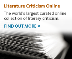 Find out more about Literature Criticism Online