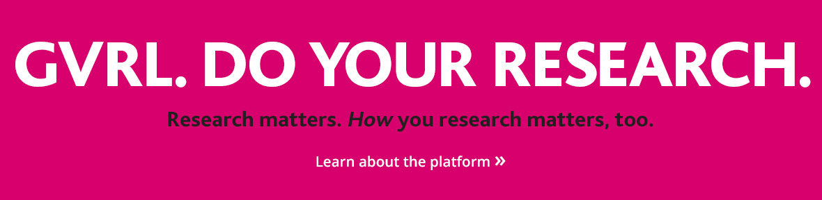 Research matters. How you research matters, too.