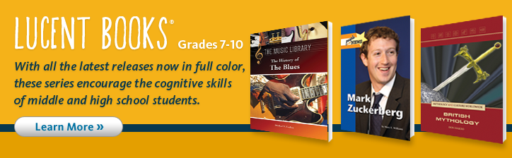 With all the latest releases now in full color, these series encourage the cognitive skills of middle and high school students.