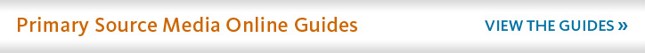 Search Primary Source Media online guides here.