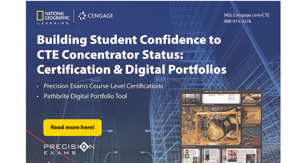 Building Student Confidence to CTE Concentrator Status: Certification & Digital Portfolios (Blog post)