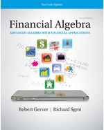Financial Algebra: Advanced Algebra with Financial Applications Tax Code Update : 2019 Tax Update Edition by Gerver/Sgroi