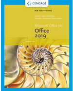 New Perspectives Series Microsoft Office 365 & Office 2019 Introductory