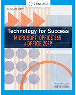 Technology for Success and Illustrated Series™ Microsoft® Office 365® & Office 2019