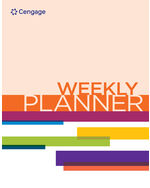 Searchcengage weekly planner 17th edition by cengage fandeluxe Choice Image