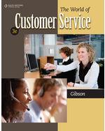 Amazon. Com: bundle: the world of customer service, 3rd + career.