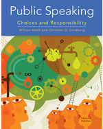 Public Speaking Choices And Responsibility 2nd