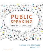 Public Speaking The Evolving Art 4th