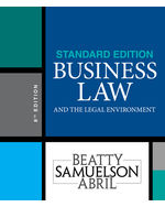Business law cengage business law and the legal environment fandeluxe Choice Image