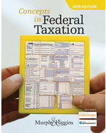 Searchcengage view more details about concepts in federal taxation 2019 26th by kevin e murphy xflitez Choice Image