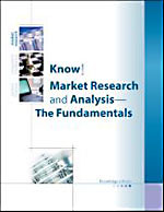 Know!: Market Research and Analysis: Fundamental to Advanced Techniques
