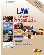 Law for Business and Personal Use, Copyright Update, 19E, 19th Edition