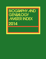 Biography & Genealogy Master Index