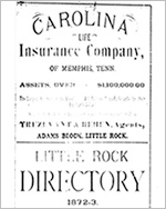 City and Business Directories: Arkansas, 1871-1929