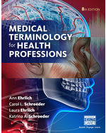 Medical Terminology for Health Professions (Hardcover), 8th Edition