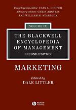 Blackwell Encyclopedia of Management: Vol. 9: Marketing