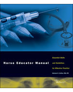 Nurse Educator Manual: Essential Skills and Guidelines for Effective Practice