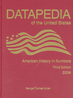 Datapedia of the U.S.: American History in Numbers