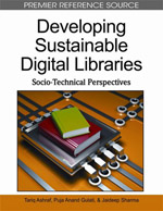 Library Information Science Collection: Developing Sustainable Digital Libraries: Socio-Technical Perspectives