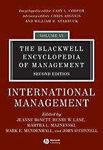 Blackwell Encyclopedia of Management: Vol. 6: International Management