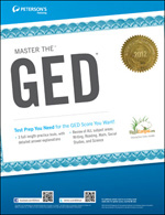 Peterson's Bundle 1: Peterson's Master The GED 2012