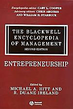 Blackwell Encyclopedia of Management: Vol. 3: Entrepreneurship