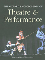 Oxford Encyclopedia Of Theatre And Performance
