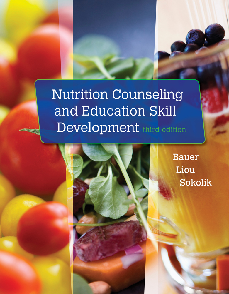 Product cover for Nutrition Counseling and Education Skill Development 3rd Edition by Kathleen D. Bauer/Doreen Liou/Carol  A. Sokolik