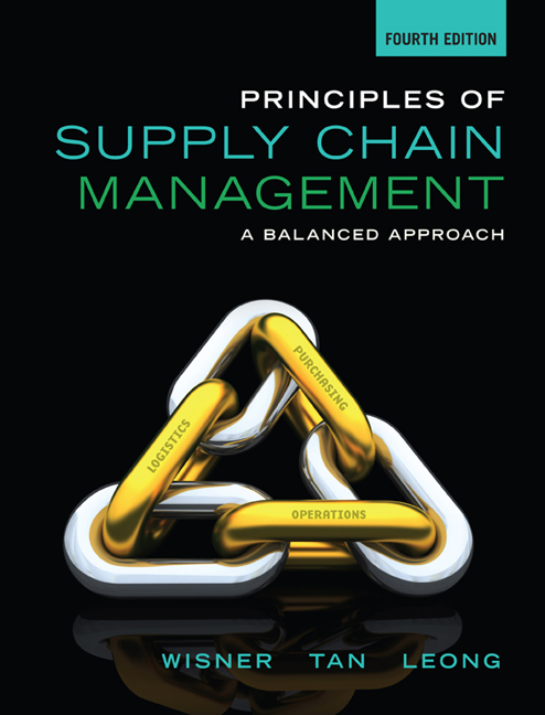 Product cover for Principles of Supply Chain Management: A Balanced Approach 4th Edition by Joel D. Wisner/Keah-Choon Tan/G. Keong Leong