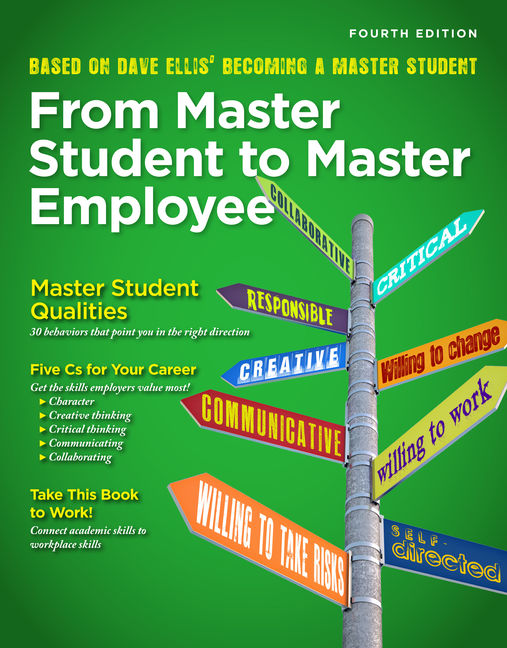 From master student to master employee 4th edition 9781435462229 product cover for from master student to master employee 4th edition by dave ellis fandeluxe Gallery