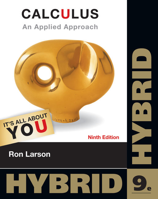 Product cover for Calculus: An Applied Approach 9th Edition by Ron Larson