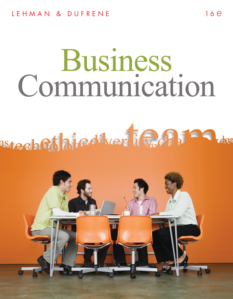 Business communication 16th edition cengage fandeluxe Gallery