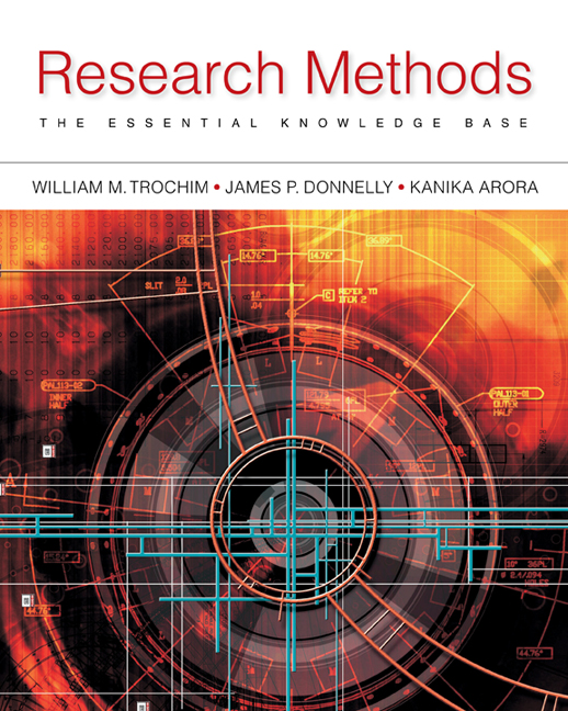 ???label.coverImageAlt??? Research Methods: The Essential Knowledge Base 2nd Edition by William Trochim, Ph.D./James P. Donnelly/Kanika Arora