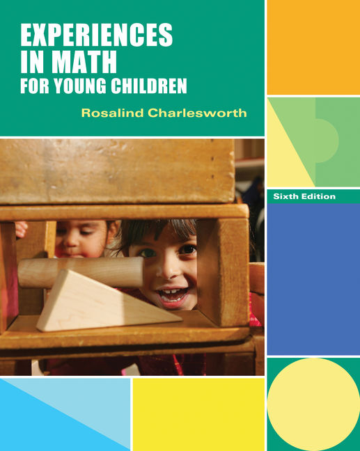 Product cover for Experiences in Math for Young Children 6th Edition by Rosalind Charlesworth, Ph.D.