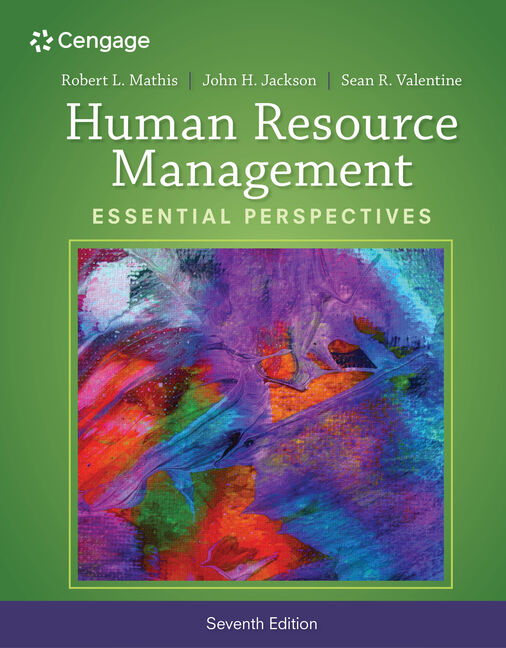 Human resource management essential perspectives 7th edition cengage product cover for human resource management essential perspectives 7th edition by robert l mathis fandeluxe Gallery