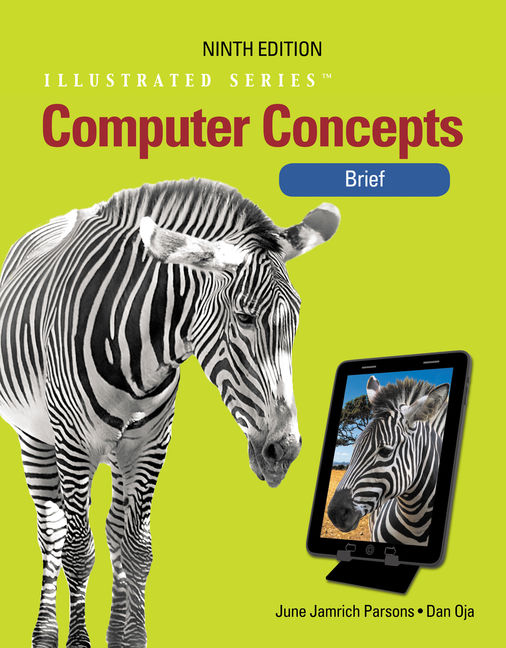 ???label.coverImageAlt??? Computer Concepts: Illustrated Brief 9th Edition by Dan Oja/June Jamrich Parsons