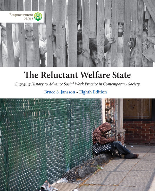 Product cover for MindTap for The Reluctant Welfare State 8th Edition by Bruce S. Jansson
