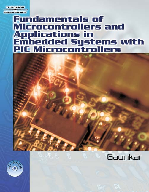 ???label.coverImageAlt??? Fundamentals of Microcontrollers and Applications in Embedded Systems with PIC 1st Edition by Ramesh Gaonkar