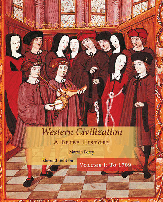 ???label.coverImageAlt??? Western Civilization: A Brief History, Volume I 11th Edition by Marvin Perry