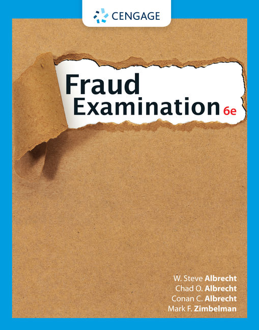 fraud examination cases Fraud examination, albrecht, 2003 one individual report and presentation on a corporate fraud case: the report and presentation will be worth 70 points.