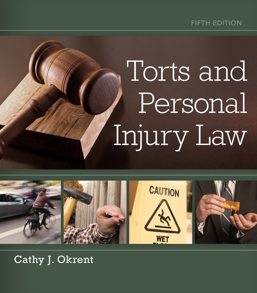 Torts and personal injury law 5th edition cengage fandeluxe Gallery