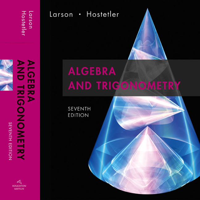 Algebra and trigonometry, 7th edition cengage.