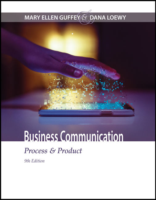 Business communication process product 9th edition cengage fandeluxe Images