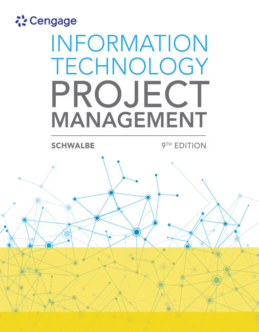 Product cover for Information Technology Project Management 9th Edition by Kathy Schwalbe
