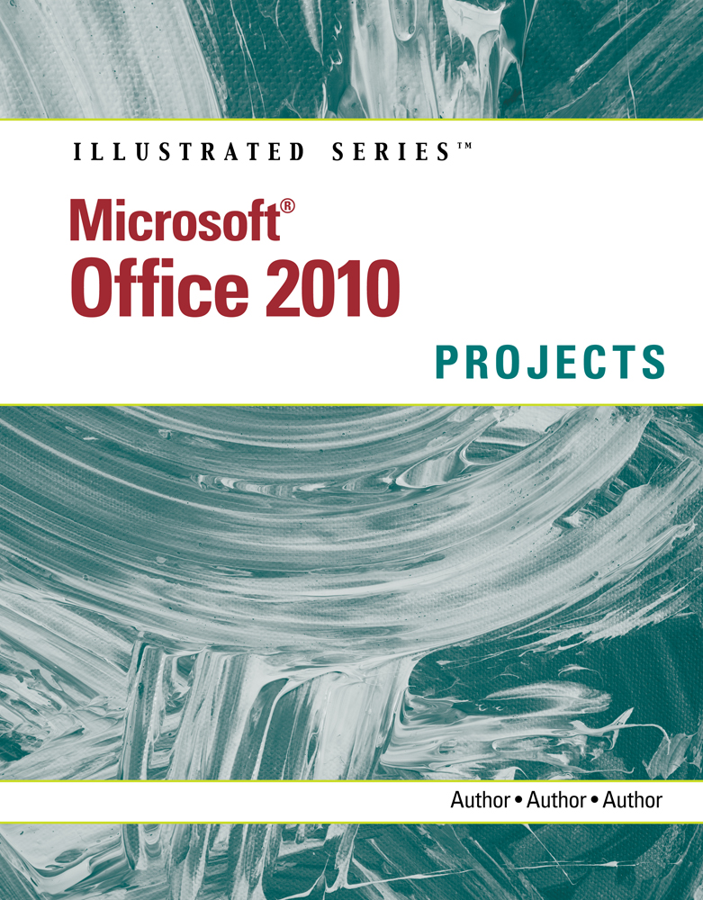 Product cover for Microsoft® Office 2010: Illustrated Projects 1st Edition by Carol Cram