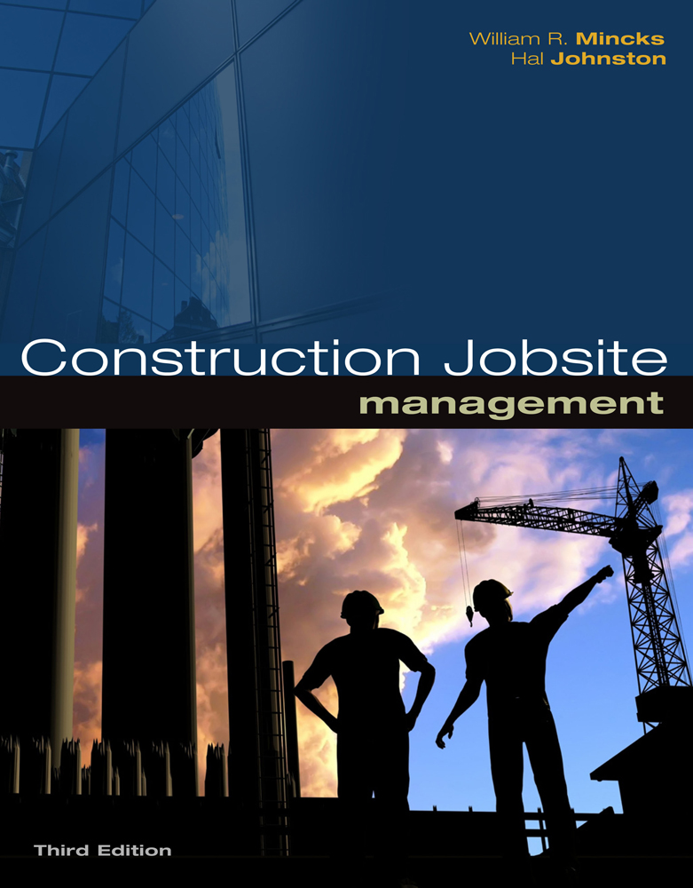Product cover for Construction Jobsite Management 3rd Edition by William R. Mincks/Hal Johnston