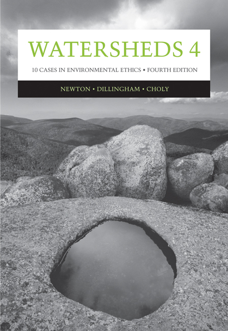 ???label.coverImageAlt??? Watersheds 4: Ten Cases in Environmental Ethics 4th Edition by Lisa H. Newton/Catherine K. Dillingham/Joanne Choly