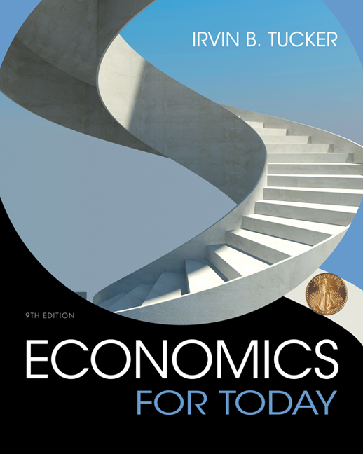 Product cover for Economics For Today 9th Edition by Irvin B. Tucker