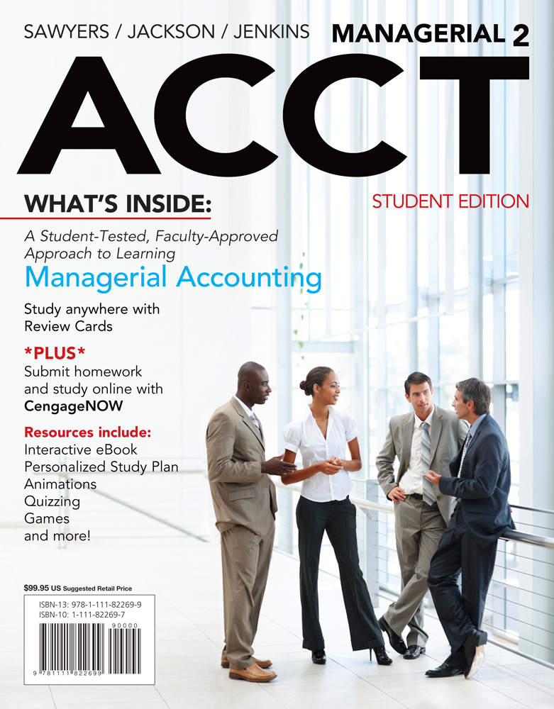 Managerial acct2 2nd edition cengage fandeluxe Choice Image